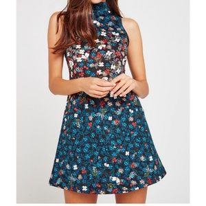BCBGeneration Floral A Line Dress